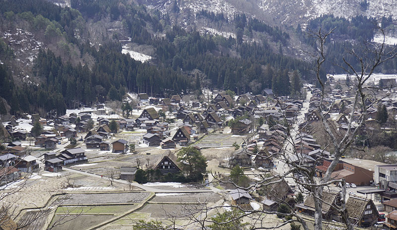 viewpoint Shirakawago